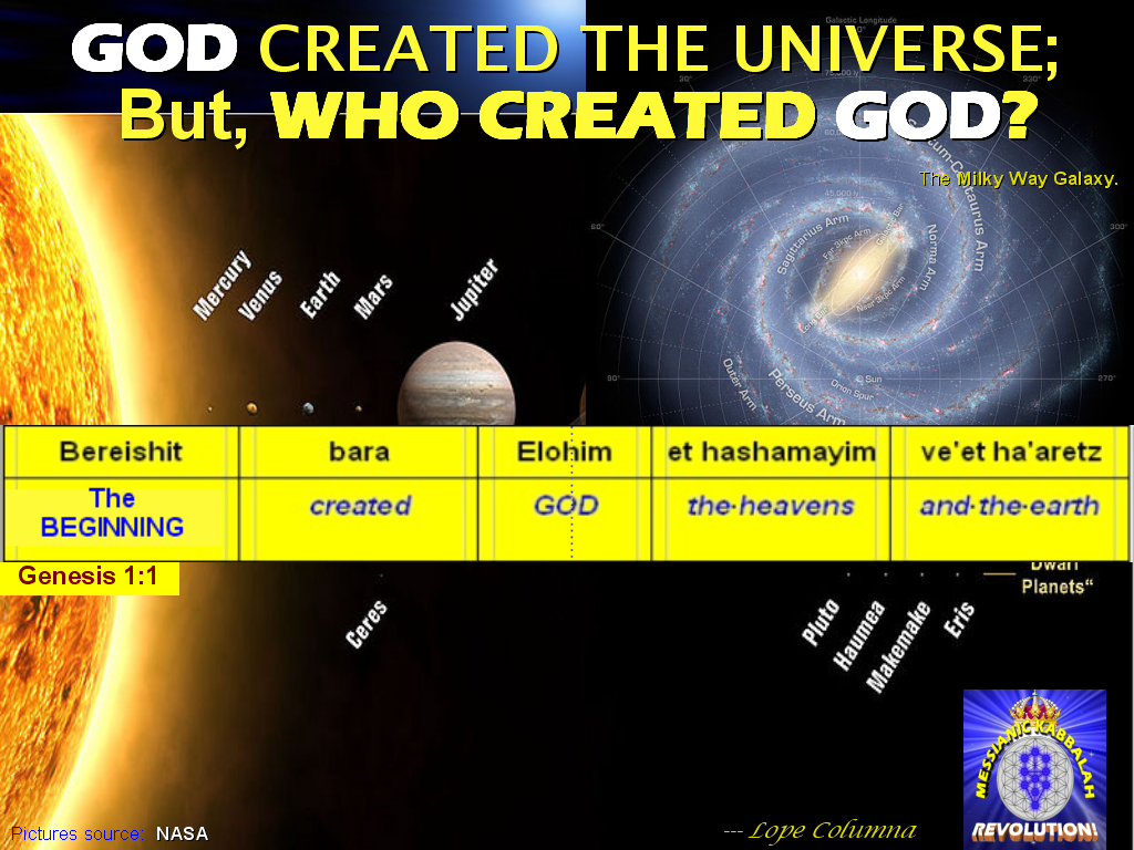 The BIBLE EXPLAINER & REVELATOR: Q1: WHO CREATED GOD? This ...