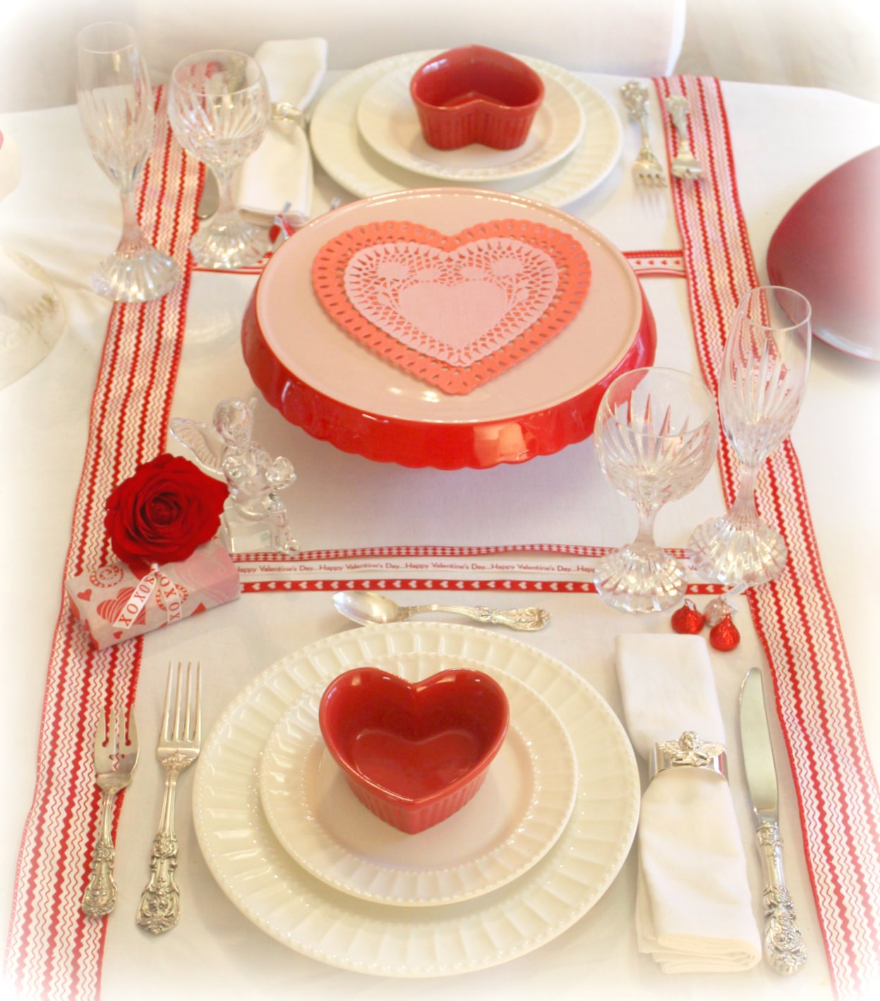 Valentines Day Dinners: RE-invented Style: RE-ceiving Guests: St. Valentine's Day