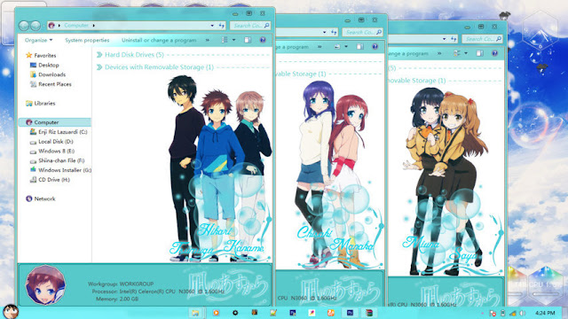 Nagi no Asukara Theme Win 7 by Enji Riz Lazuardi
