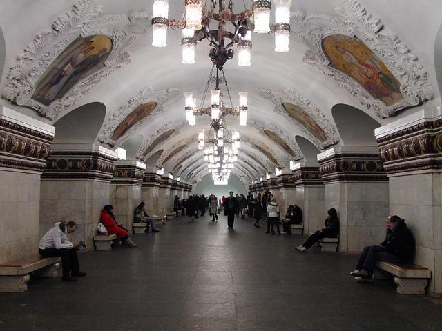 metropolitana Mosca Kievskaya Koltsevaya