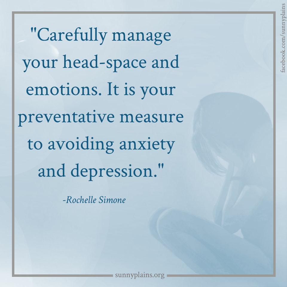 Manage Stress Avoid Anxiety And Depression Stress Management Sunny Plains Quotes