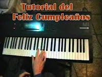 aprender cumpleaños feliz en piano o teclado