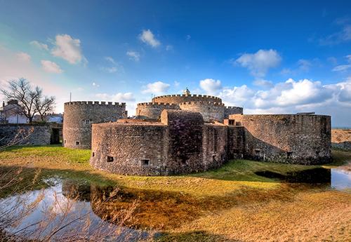 Deal Castle, Kent, England.