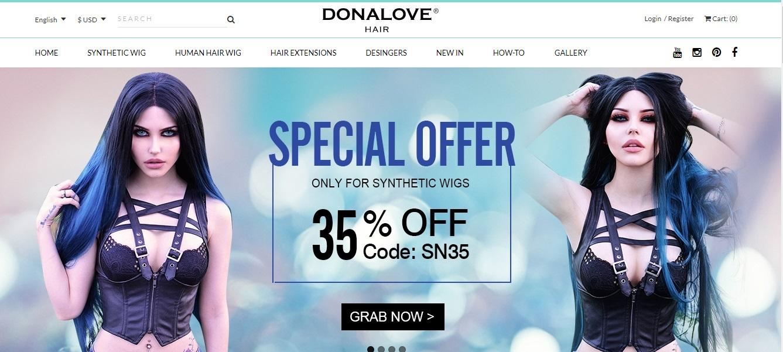 Loja Donalove Hair