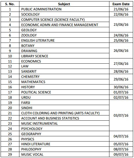 image : RPSC College Lecturer Subject-wise Exam Dates 2016 @ www.TeachMatters.in