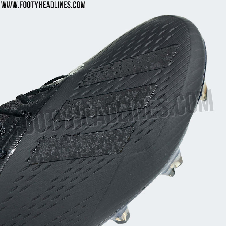 san francisco abf29 4e57c Blackout Adidas X 18  Shadow Mode  Boots Leaked