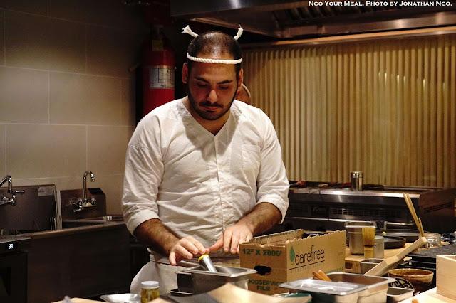Chefs at Shuraku in New York City