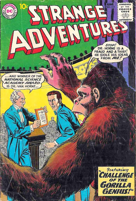 Strange Adventures v1 #117, 1960 dc silver age comic book cover - 1st Atomic Knights