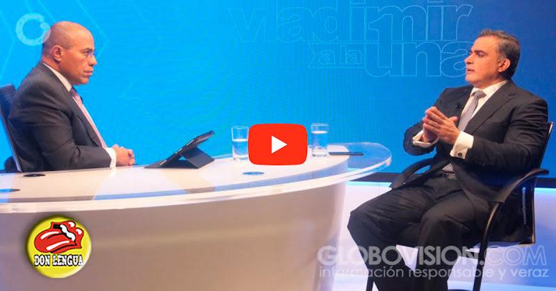 La loca de Tarek William Saab se arrechó por las preguntas de Vladimir sobre el asesinato de Albán por el SEBIN