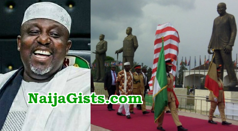 okorocha erects 10 more statues