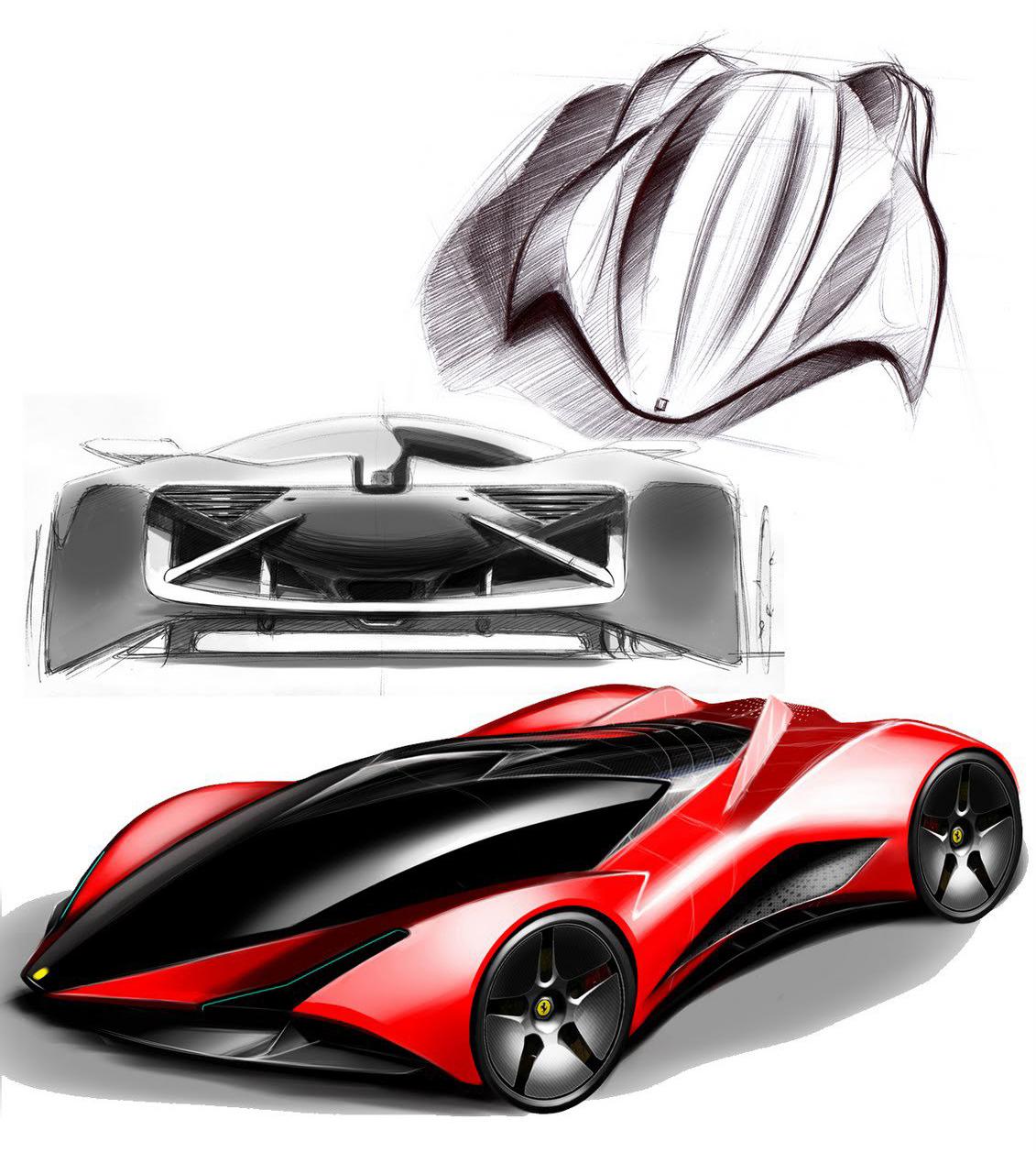 Ferrari Designer: Awesome Designs For The 'Ferrari World Design' Contest