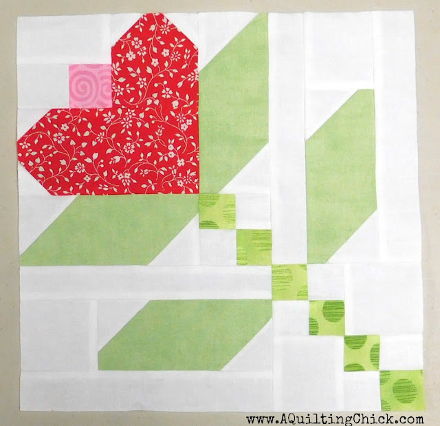 A Quilting Chick - First Kiss