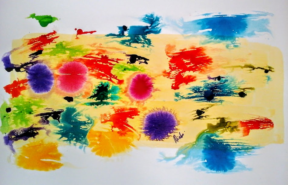 waves abstract art and blog by miabo enyadike