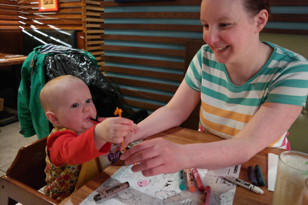 Sarah Rooftops - Giraffe Aberdeen Review: Toddler Milk