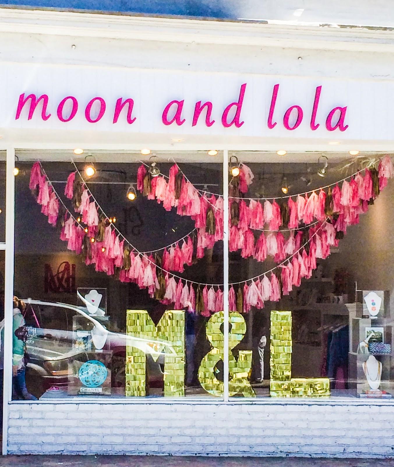 Sweet Tea Jubilee: Monogram Monday: Moon & Lola