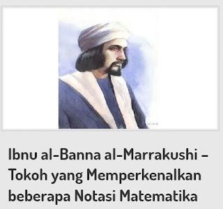 Biografi Tokoh Ilmuwan Muslim  Al-Banna Dan Hasil Penemuannya