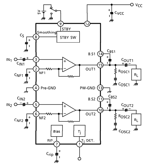 AmplifierCircuits.com: Audio Amplifier