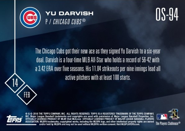 13ffcdcfaf2 Once a Cub  First Look at 2018 Topps Now