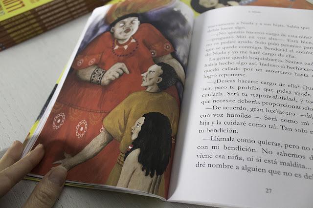 libro infantil ilustrado, Mar Villar, Nuda, Nubeocho, Jesús López Moya, niñas, igualdad entre sexos, África, portada, LIJ, literatura infantil, ilustración infantil,