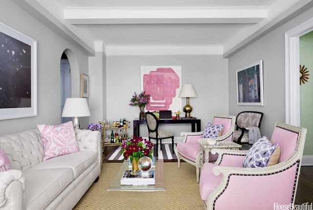 Charming Feminine Living Room Ideas 2016