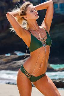 Trendy Green Bikini