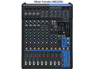 Harga Mixer Audio Yamaha MG12XU