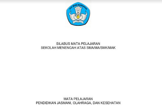 Silabus PJOK Kurikulum 2013 Revisi 2017 PDF