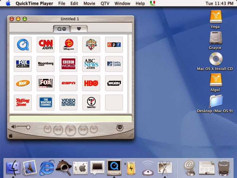 Quicktime Max Os X