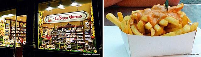 Batatas fritas, comida típica da Bélgica
