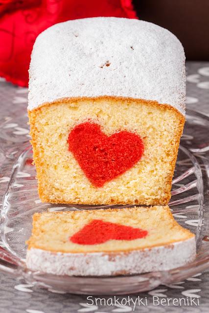 Przepis na ciasto walentynkowe