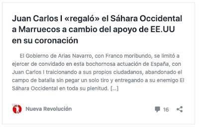 https://nuevarevolucion.es/juan-carlos-i-regalo-el-sahara-occidental-a-marruecos-a-cambio-del-apoyo-de-ee-uu-en-su-coronacion/