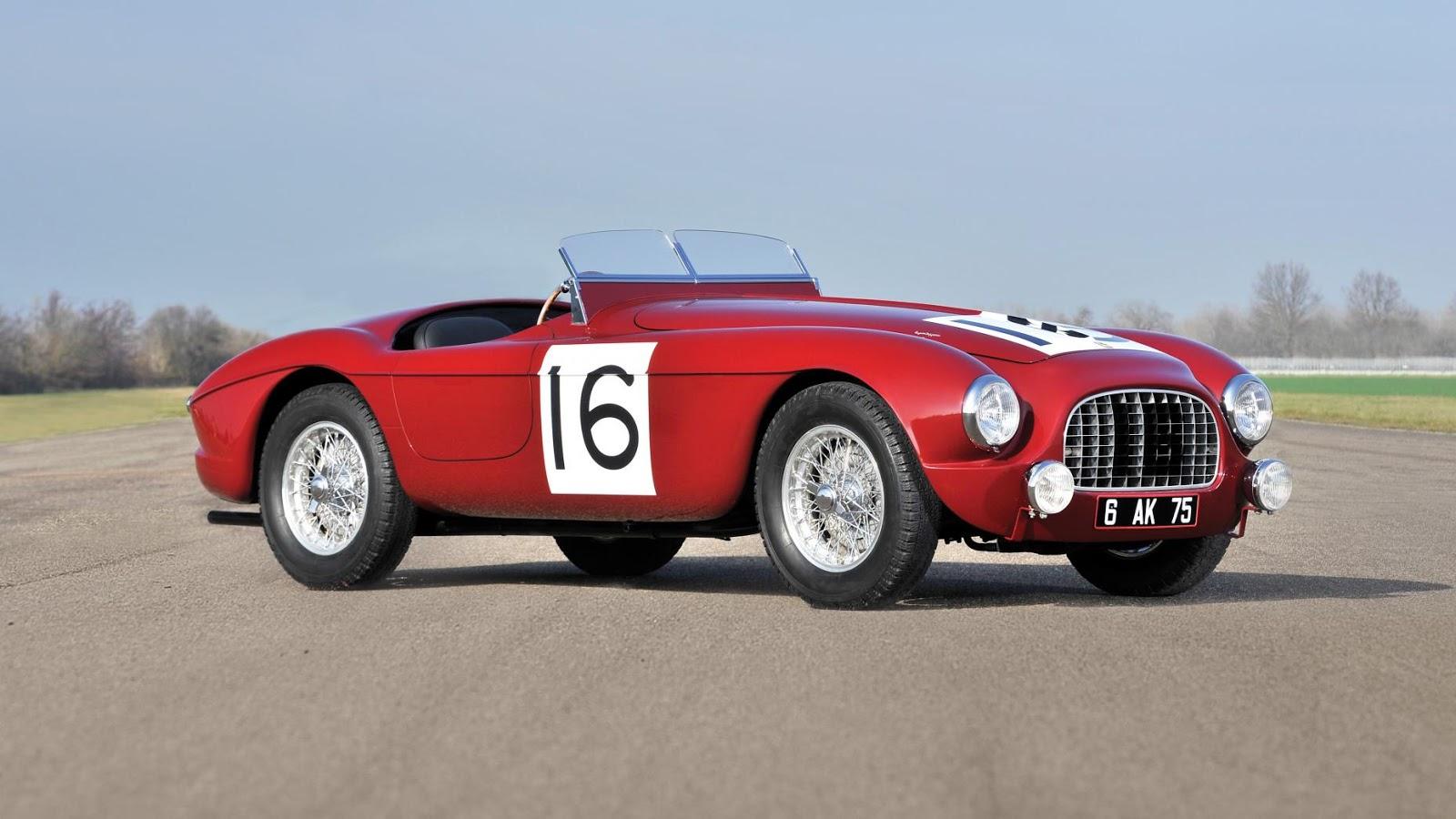 1951 Ferrari 340 America Barchetta by Touring - 5,7 triệu £