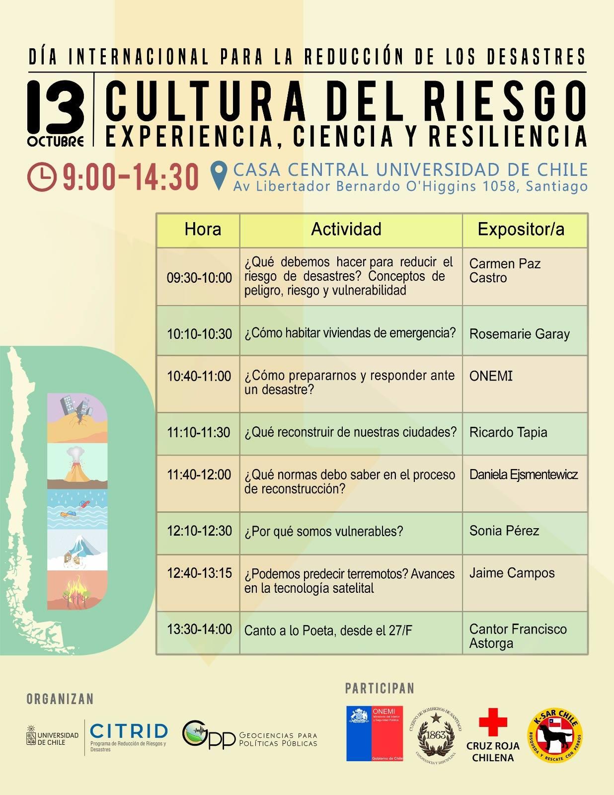 Calendario académico de Pregrado 2018 - Universidad