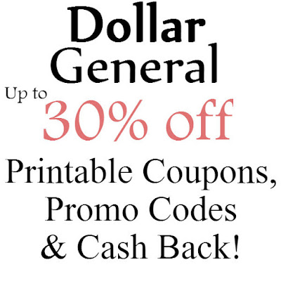 Dollar General Printable Coupon January 2016, February 2016