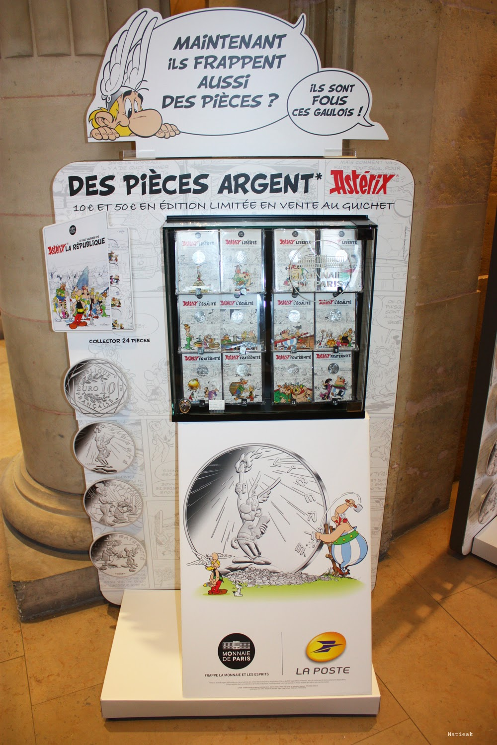 collection   la monnaie de Paris  Astérix