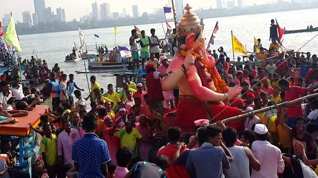 ganesh chaturthi visarjan 2017