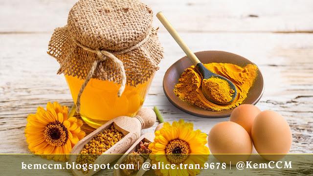 Kem CCM - Nghệ tươi mật ong