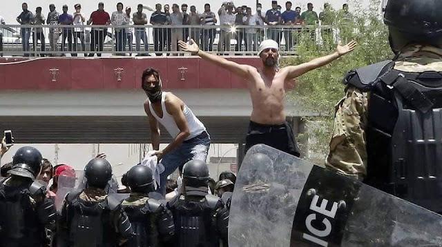 Le Sud de l'Irak se révolte…