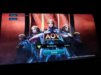 Arena Of Valor pada Zenfone Max Pro M1