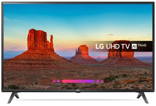 LG 43UK6300PLB: panel IPS de 43 pulgadas con resolución 4K (UHD)