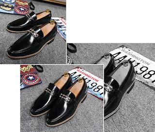 Sepatu Pantofel Pria Korea Model Terbaru Mei 2016