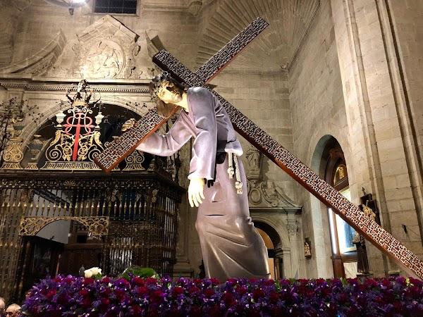 El Nazareno de Narvaiza sale en procesión extraordinaria este sábado