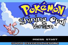 pokemon shining opal screenshot 1