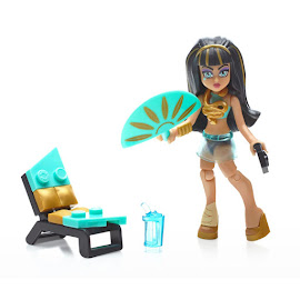 MH Gore-Geous Throne Cleo de Nile Mega Blocks Figure