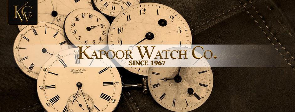 3ee64e04034 Kapoor Watch Co.