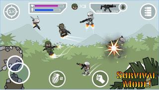 Doodle Army 2 Mini Militia Modapk Pro Unlocked 4.0.11
