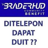 Gratis Pasif Income Tanpa Batas Minimal 25rb/bln dari RBT BRADERHUD - LEGAL