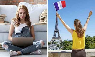 تعلم اللغة الفرنسية والدراسة في فرنسا