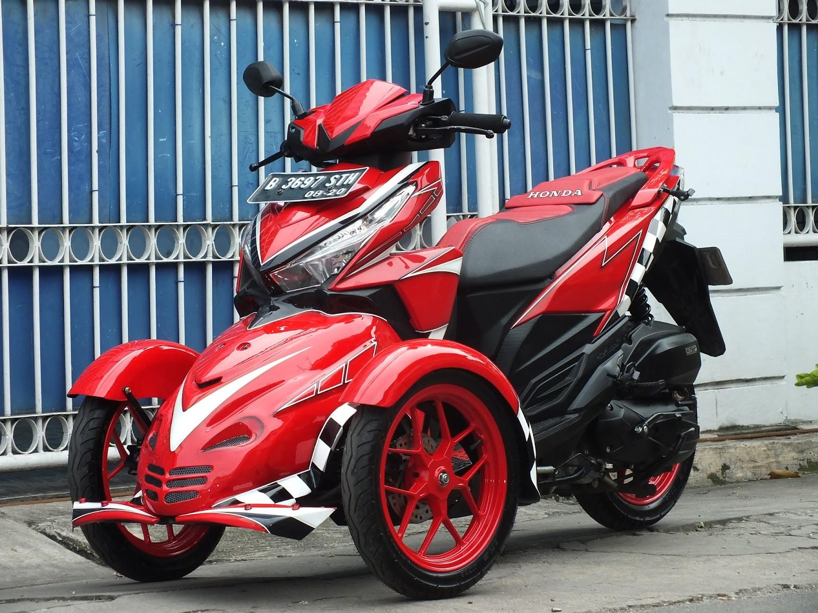 Modifikasi JOK MOTOR JOK Honda Vario 150 Modif Model SPORTY Pesanan