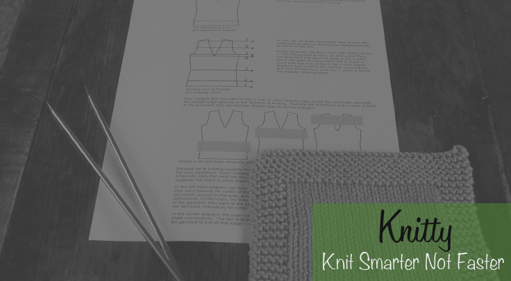 Knit smarter not faster